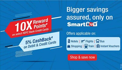 HDFC Bank 10x Smartbuy offer extended till May 31, 2020 1
