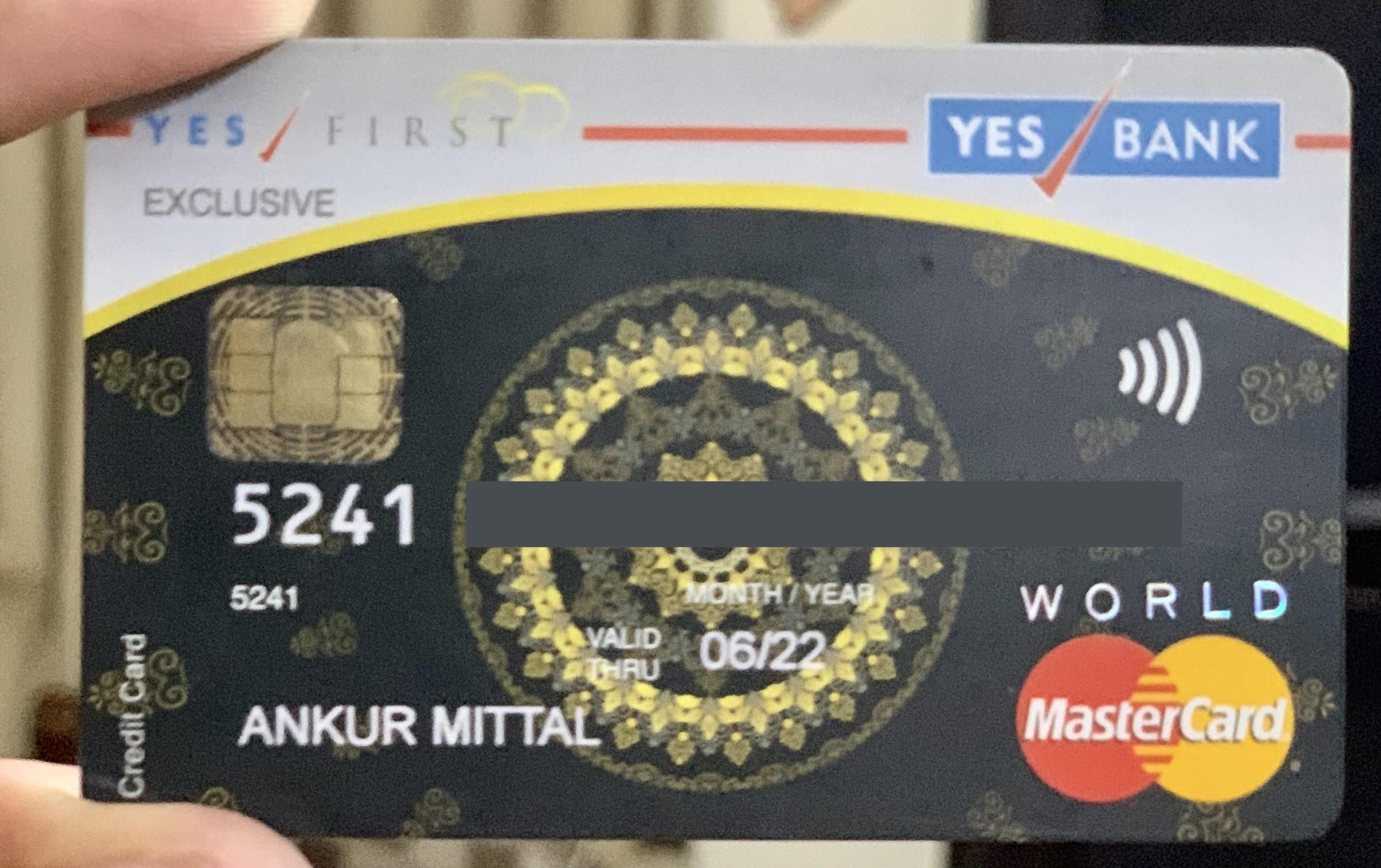 Yes Bank First Exclusive Credit Card Features & Review 1